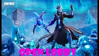 New Ice Storm Game Mode. Fortnite Battle Royale  XBOX ONE Open Lobby