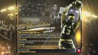NBA 2K12 Intro and Greatest Players Intro