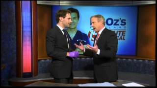 Mike Hoaglin with Dr Oz