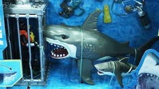 Cá mập đồ chơi Cá Mập Trắng Khổng Lồ tấn công