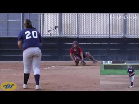 Sarah Clancys Softball Skills   2020 LHP1B  Monarchs 14UNavy