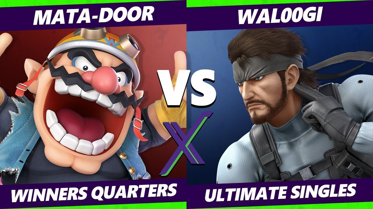 Smash Ultimate Tournament - Mata-Door (Wario)  Vs. Wal00gi (Snake) - S@X 289 SSBU Winners Quarters