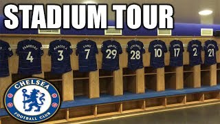 STAMFORD BRIDGE STADIUM TOUR! CHELSEA FC!