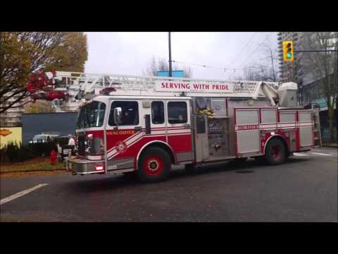 Radio Scanner: Vancouver 1st Alarm  Structure Fire