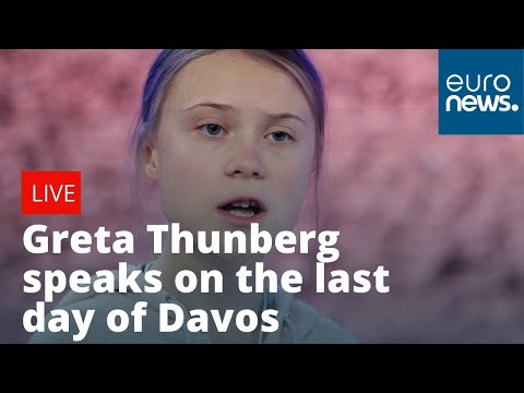 euronews (in English): Greta Thunberg speaks on the last day of the World Economic Forum | LIVE