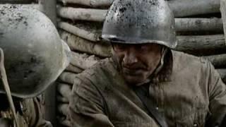 Angriff der russischen Soldaten (Strafsoldaten)