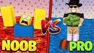 NOOB vs PRO! in Roblox Flood Escape