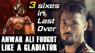 Anwar Ali Fought like a Gladiator   Peshawar Zalmi vs Quetta Gladiators   HBL PSL 2018