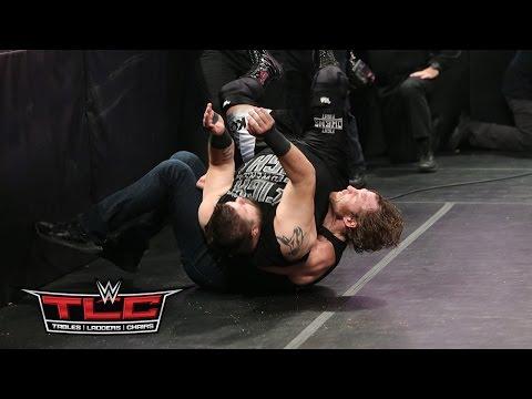WWE Network: Dean Ambrose Vs. Kevin Owens: WWE TLC 2015