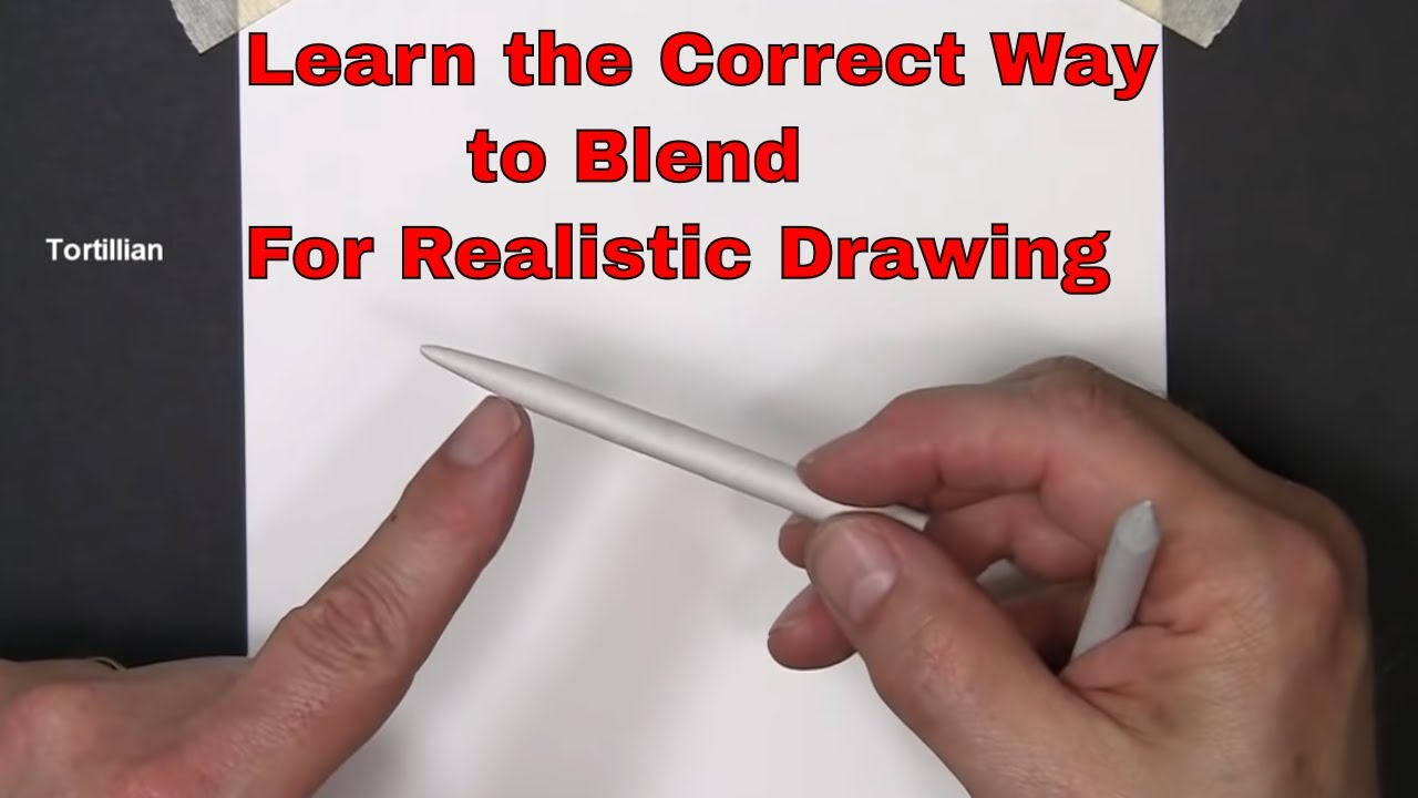 pencil drawing blending and shading learn to blend and shade