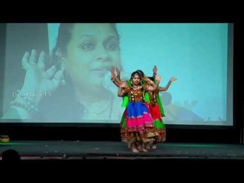 Folk Dance By Local Kids At Telugu Cultural Association Houston - Convention 2016