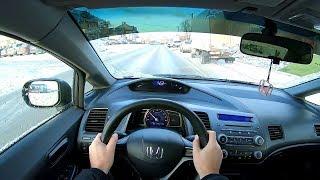 2010 honda Civic 1.8 mt (140) POV test drive