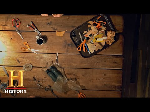 Mountain Men: Craft with Tom by the Yule Log!   History