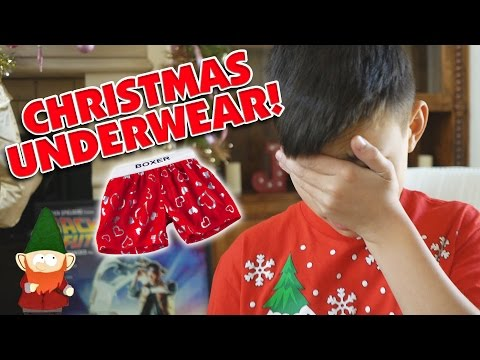 I GOT UNDERWEAR FOR CHRISTMAS