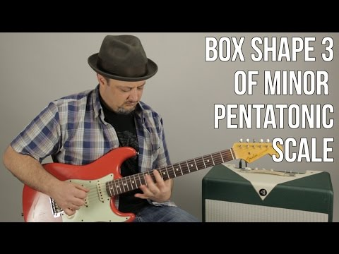 Guitar Scales Lesson - Box 3 of the Minor Pentatonic Scale - Blues Scale