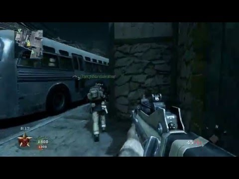 Call Of Duty Black Ops - Team Deathmatch versus Veteran Bots - Hanoi