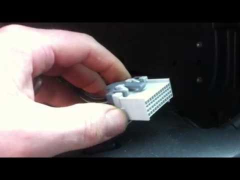 03 GMC gauge cluster plug removal - YouTube