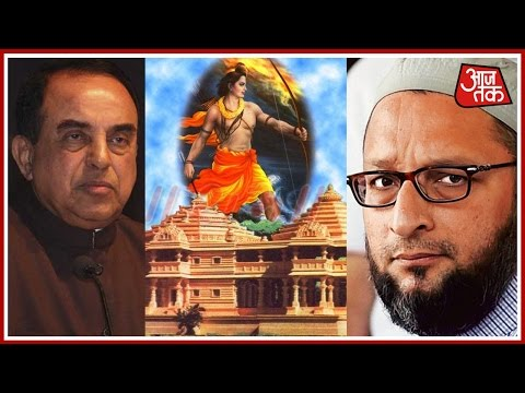 BJP Vs AIMIM Over Ayodhya Ram Mandir Issue