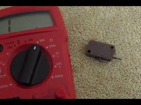 Fixing Faulty Microwave Door Switch Bad Micro Repair Fix