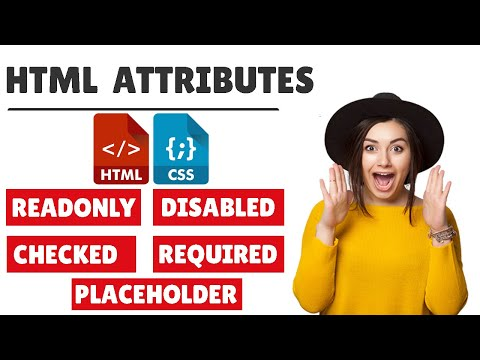 #13 👉HTML Input Attributes ( Placeholder | Required | Readonly | Disabled | Checked) 🔥Very Important
