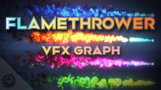 HOW TO CREATE A FLAMETHROWER in Unity VFX Graph
