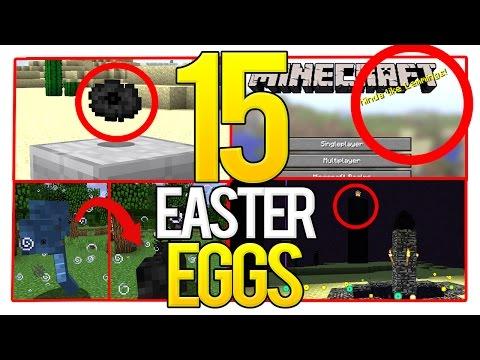 15 Minecraft Secret Hidden Easter Eggs