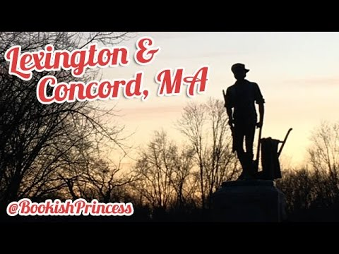Lexington & Concord, MA | TRAVEL VLOG