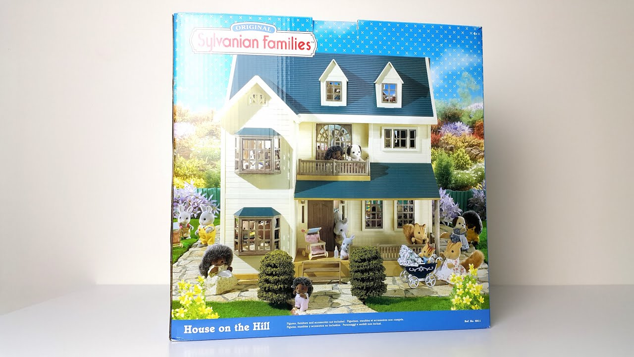 House on a Hill Review - Sylvanian Families - YouTube