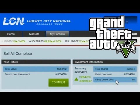 GTA 5 - How to Make Money Using The Stock Market Guide (GTA