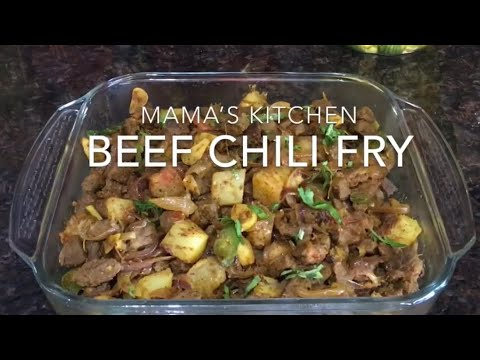 How To Make Goan Beef Chili Fry ( QUICK AND EASY )