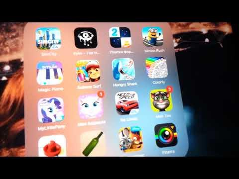 Эля Мей - Обзор моих игр в планшете .