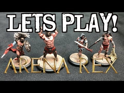 Let's Play! - Arena Rex: Gladiatorial Combat in a Mythic Age