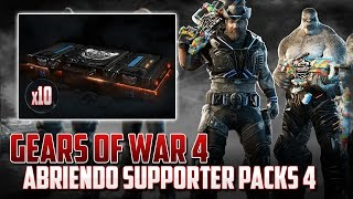 "Gears of War 4 | Abriendo 10 Supporter Packs 4 ""ÉPICO"""