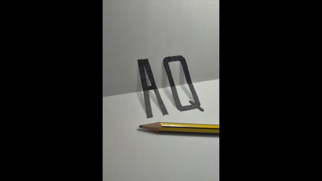 """Vẽ 3D đơn giản – 3D Drawing """"AQ"""""""