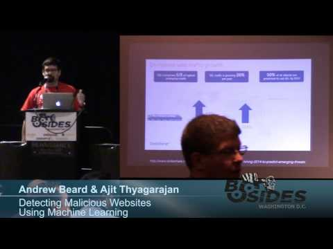 BSides DC 2016 - Detecting Malicious websites using Machine Learning