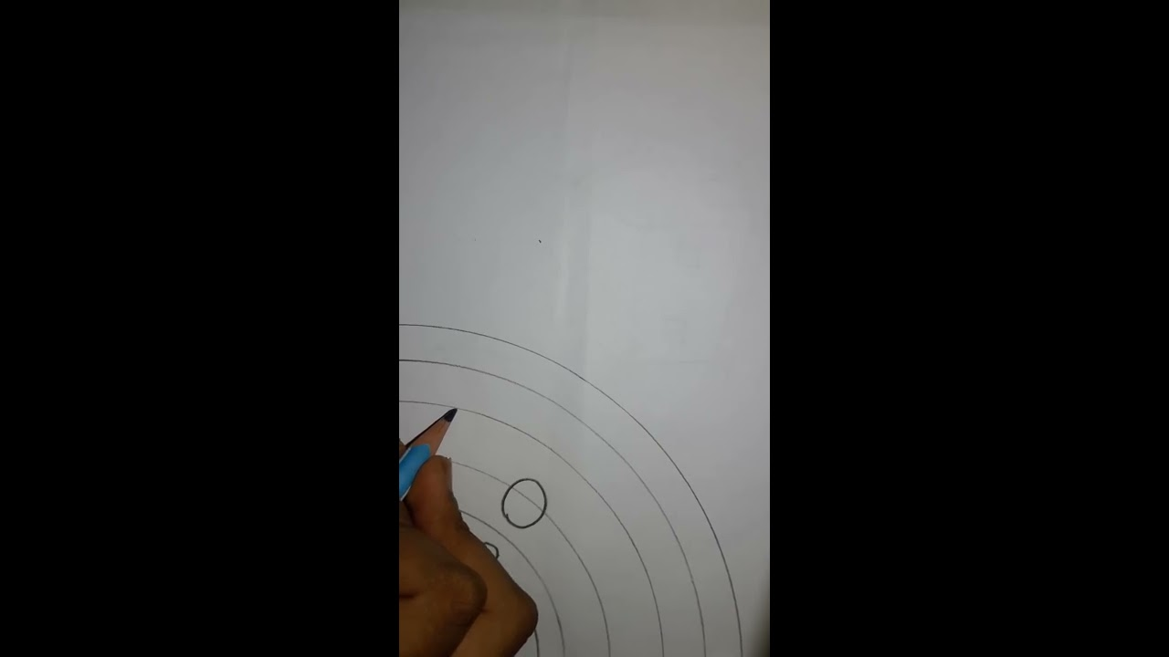how to draw solar system step by step very easy youtube