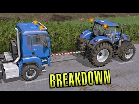 Farming Simulator 2017 | BREAKDOWN! | Sandy Bay | Episode 29