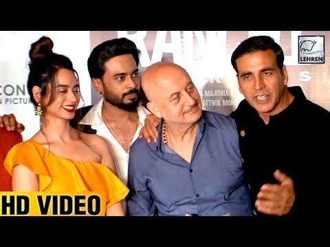 Akshay Kumar's FUNNY Interview At The Premiere Of Ranchi Diaries | LehrenTV