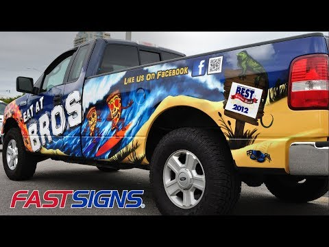 Visually Communicate Your Brand, Products And Services With Signs And Graphics | FASTSIGNS®