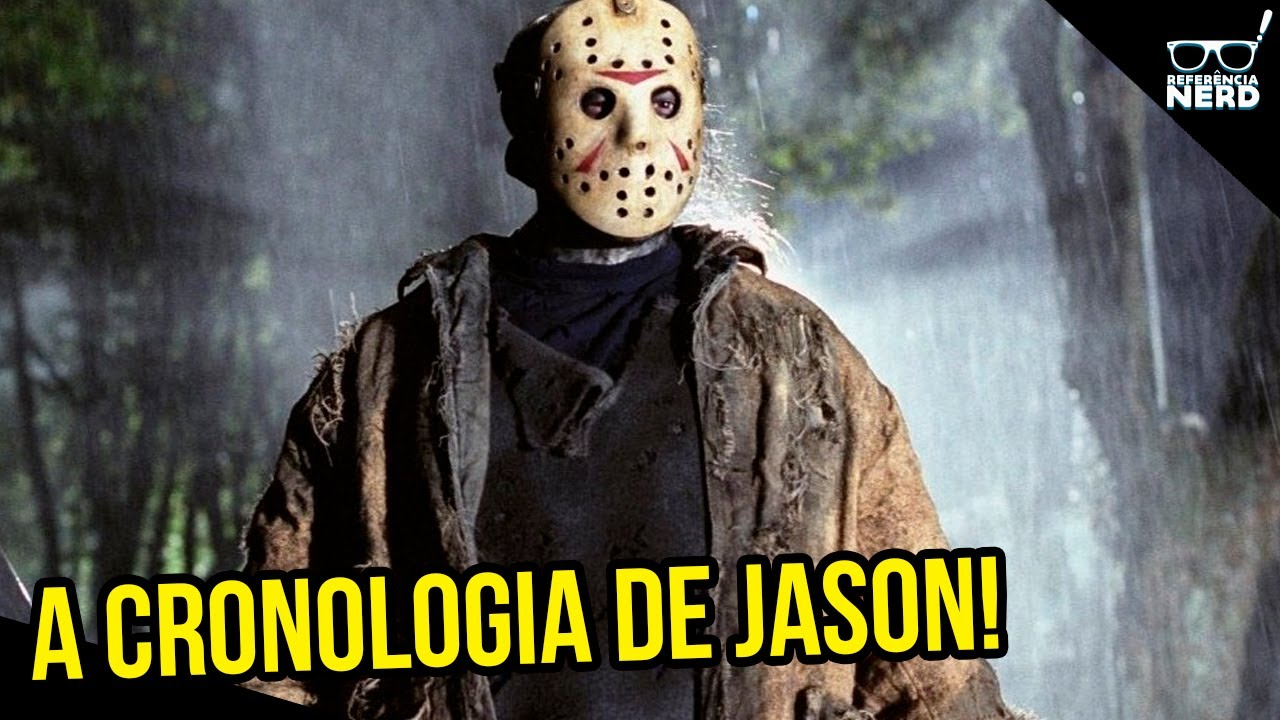 "A CRONOLOGIA DOS FILMES ""SEXTA-FEIRA 13""!"