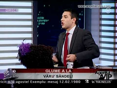 Angela Rusu & VaruSandel GLUME LIVE La AgentulVIp Antena2 Part1