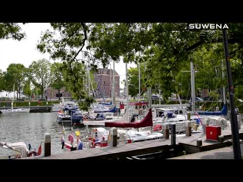 Sailing in North Holland Canals and Towns