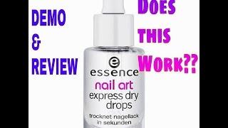 Essence Nail Art Express Dry Drops Makeup Beautyalmanac