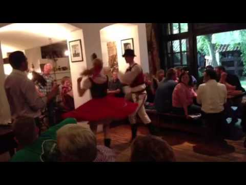 Traditional Czech republic music and dancing