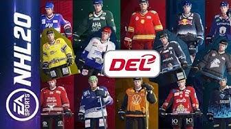 UPDATE! Alle DEL Teams, Trikots und Spielerstärken (Stand: 25.10.2019) | NHL 20 #002