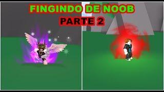DRAGON BALL RAGE: FINGINDO DE NOOB [ROBLOX] #2]