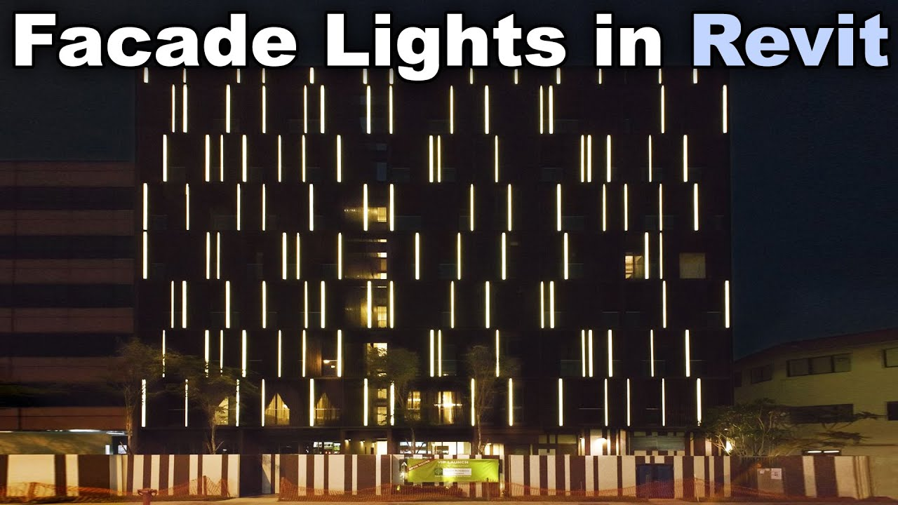 Facade Lights in Revit Tutorial