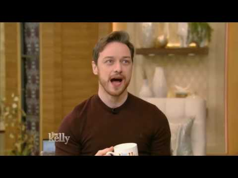 James McAvoy talks about SPLIT - LIVE with Kelly (Jan 19, 2017)