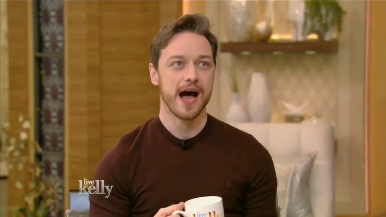 James McAvoy talks about SPLIT - LIVE with Kelly (Jan 19 ...