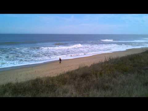 View of Atlantic Ocean in Southern Shores
